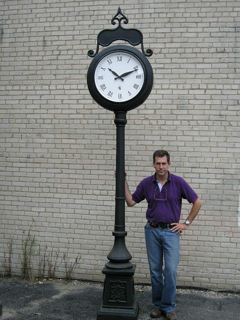 victorian post clock lumichron flickr photo sharing