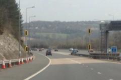 "m25 motorway ""traffic lights"""