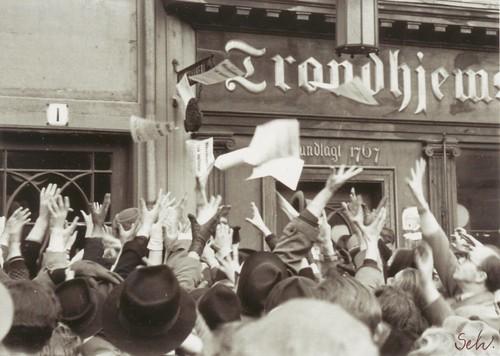 Frigjøringsdagen 8 mai 1945 / VE Day in Trondheim (1945)