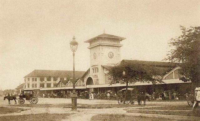 Saigon - Le marché centrale