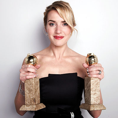 kate winslet golden globes the reader best actress supporting hollywood ...
