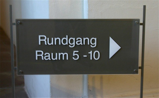 Signage in Germany Today