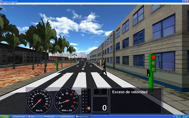 Ilustrasi Driving Simulator. Foto: Flickr/carlos-u
