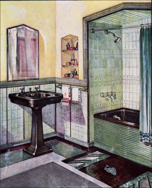 1920s and 1930s bathrooms a gallery on flickr for 1920s bathroom designs