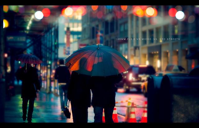 105mm VR Macro Vs. NYC Streets - Beautiful Bokeh Photography
