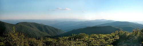 mountain tennessee vista fontana appalachiantrail thunderhead rockytop