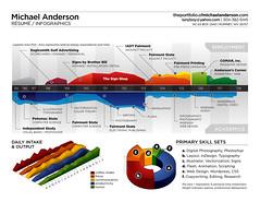 Resume infographic