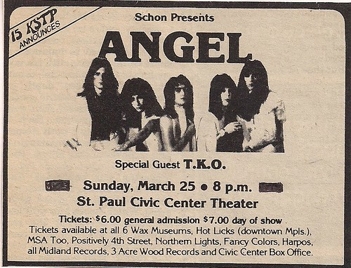 03/25/79 Angel/TKO @ St. Paul Civic Center