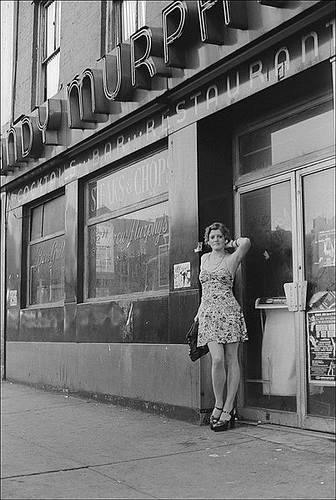 Street prostitute waiting for customer 2 - 5 8