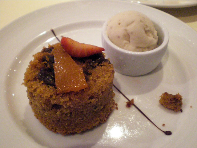 Warm Fig, Date, and Cinnamon Cake with Rum Raisin Ice Cream | Flickr ...