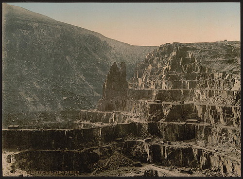 [Slate quarries, Bethesda, Wales] (LOC)