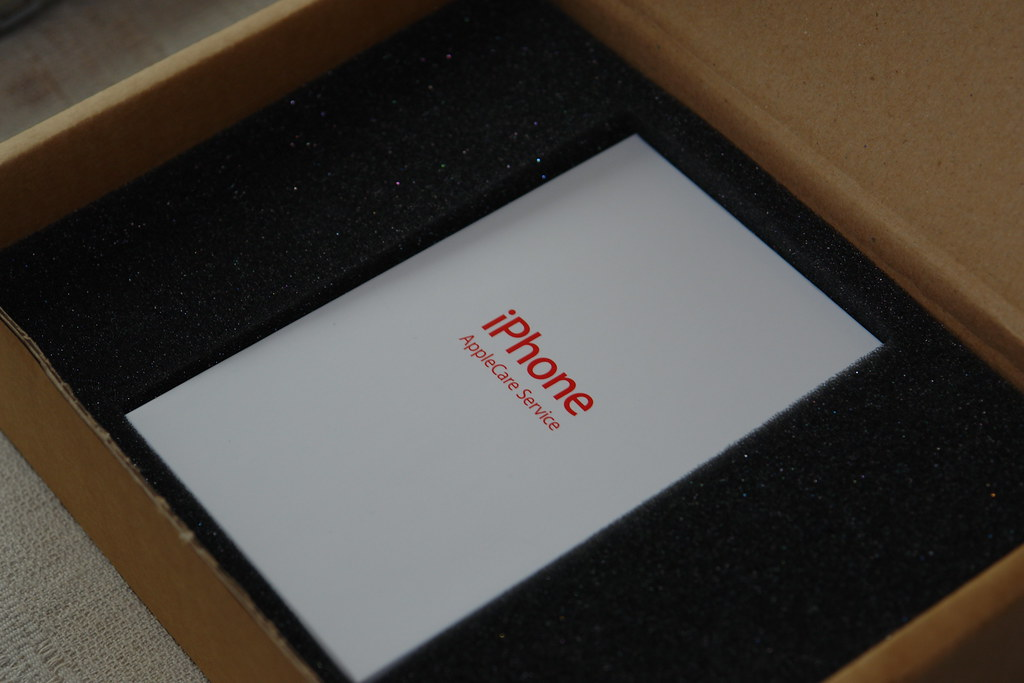 iPhone AppleCare box