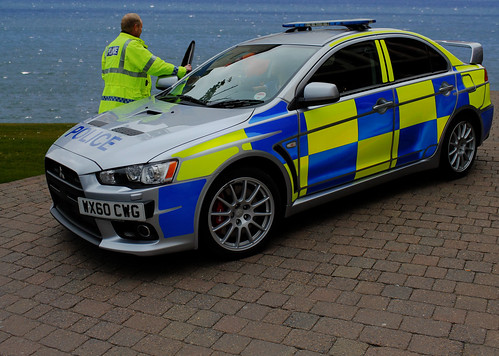 WX60CWG Lothian and Borders Police Mitsubishi Lancer Evolution X (Evo 10) [EXPLORED #88]