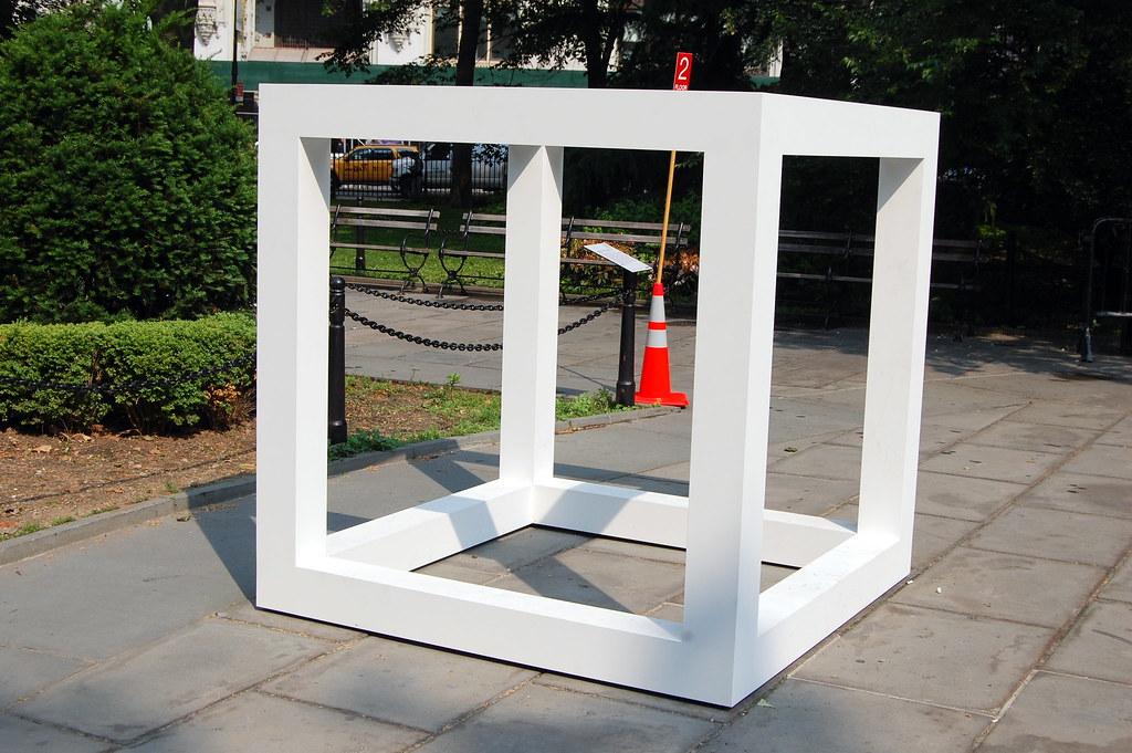 Sol LeWitt, Large Modular Cube, 1969