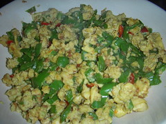 meal, vegetable, cruciferous vegetables, vegetarian food, produce, food, dish, scrambled eggs, cuisine,
