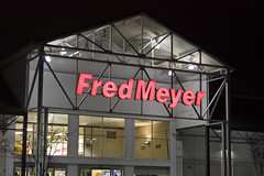 Fred Meyer store sign