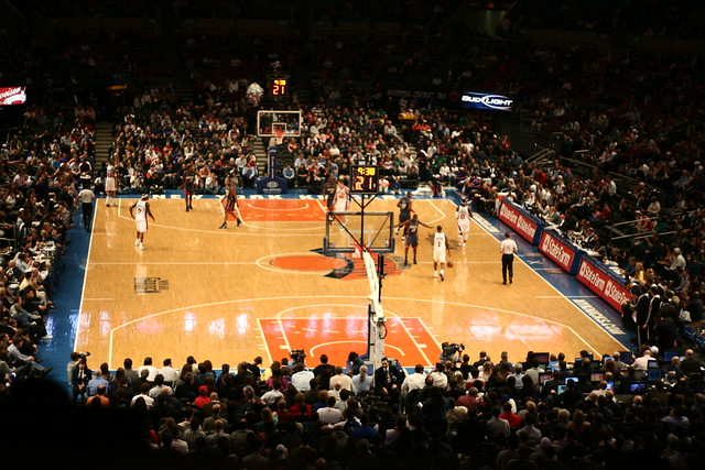 Photo Madison square garden basketball
