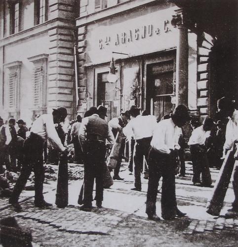 1899 2007 Serciaroli a Palazzo Verospi e Caffè Aragno