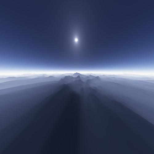 Island in the Sky by zerega