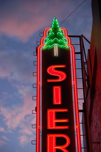 california ca old sunset sign theater neon signage susanville vintge ca36 susanvilleca sierratheatre