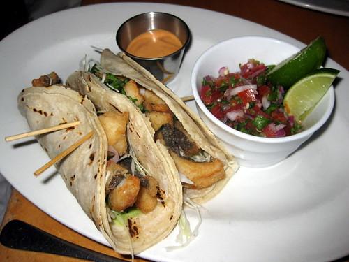 Mary s fish camp gracenotes nyc for Flounder fish tacos