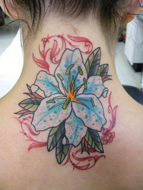 Flickr white lotus tattoo for White lotus tattoo