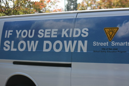 San Jose School Safety program van