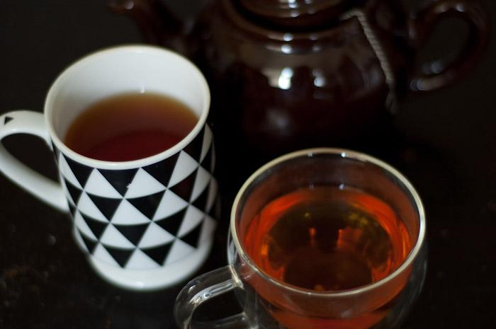loose leaf tea.
