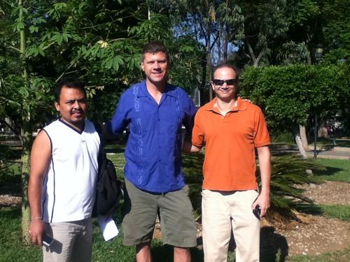 Ariel, Ron y Rogelio @ Llano Park 06.2011