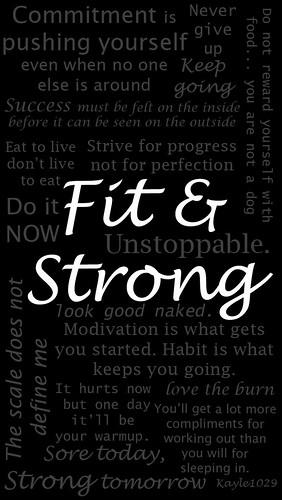 Kristine Kay Le Fitness Motivation IPhone 5s Wallpaper