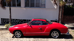 IMG_0295: Red Karmann Ghia