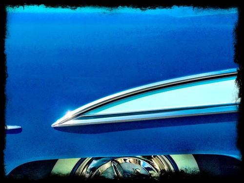Flashy Blue by Damian Gadal
