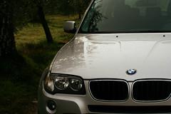 wheel(0.0), bmw x3(0.0), bmw x5(0.0), vehicle registration plate(0.0), automobile(1.0), automotive exterior(1.0), sport utility vehicle(1.0), vehicle(1.0), automotive design(1.0), bmw x1(1.0), crossover suv(1.0), bmw x5 (e53)(1.0), grille(1.0), bumper(1.0), land vehicle(1.0), luxury vehicle(1.0),