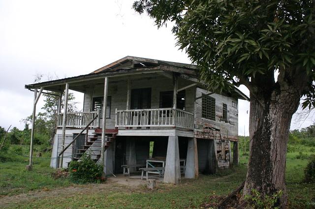 Old and abandoned plantation house surinam flickr for Abandoned plantation homes for sale