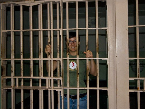 Bugle Boy fan at Alcatraz!