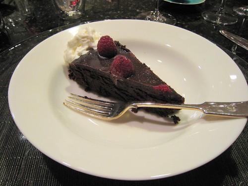 chocolate, raspberries, silver IMG_7570