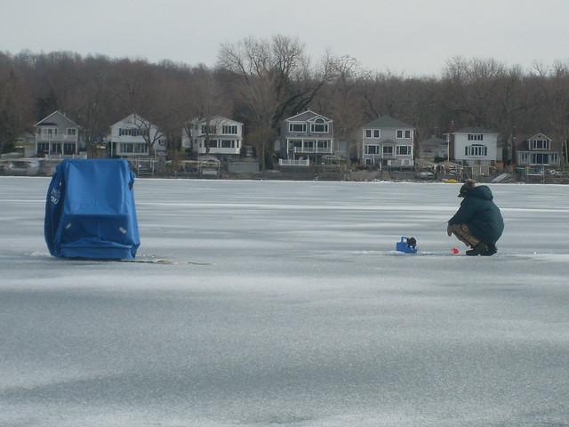 Ice fishing on the finger lakes ny flickr photo sharing for Ice fishing ny