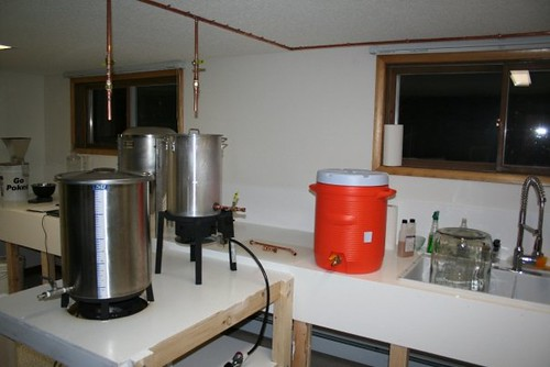 Brewery Build out 2008