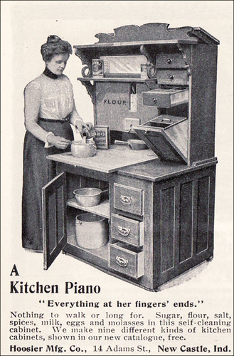 1901 Hoosier Cabinet - A Kitchen Piano