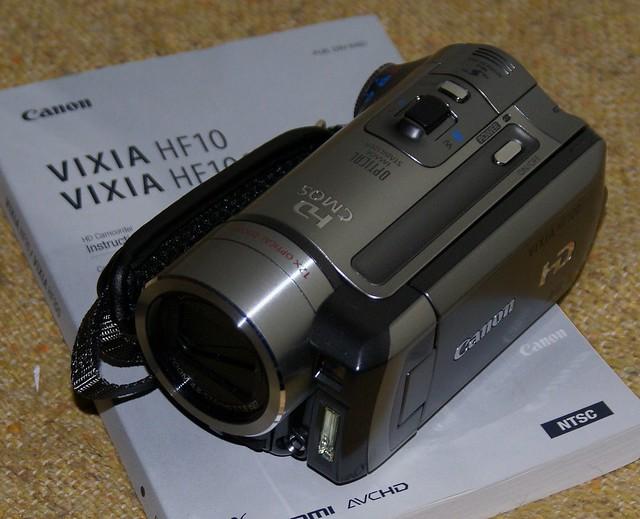 Day 238 - 2/Feb/2009 New toy: Canon Vixia HF100