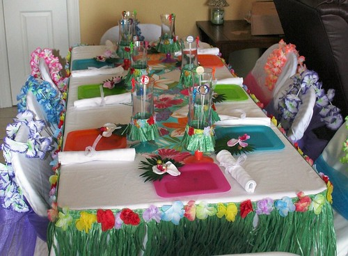 Luau Table