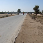 Main road in Sillanwali, Sargodha, Pakistan