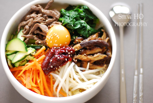 bibimbap at home | recipe here | By: *steveH | Flickr - Photo Sharing!