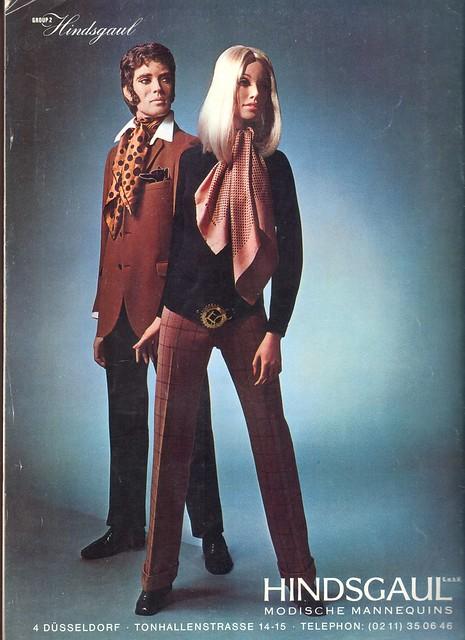 hindsgaul mannequin / broshure 1970