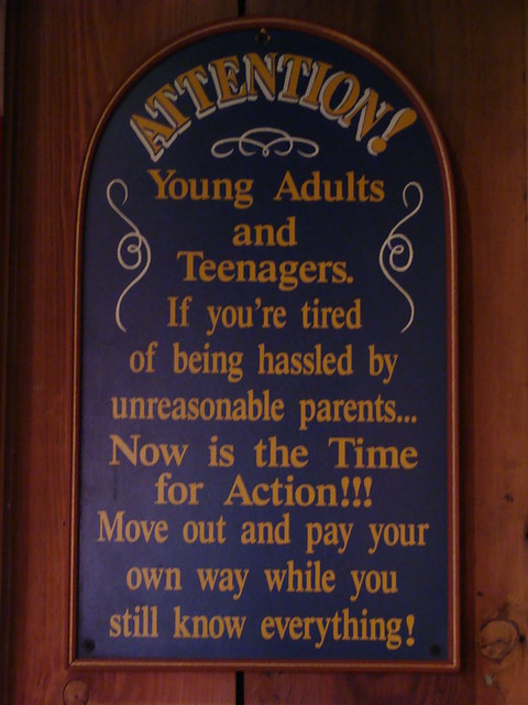 Attention Young Adults And Teenagers Move Out While You -6016