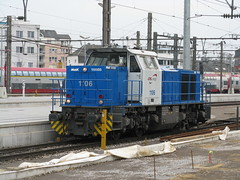 CFL Class 1100 (Vossloh G1000) no. 1106, Luxembourg