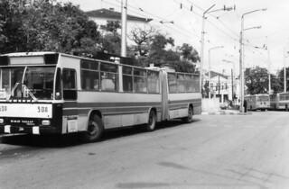 ДАК-Чавдар Тролеи  317 ETR nr 508.Варна OKT 1993 DAC Chavdar Trolleybus, Varna