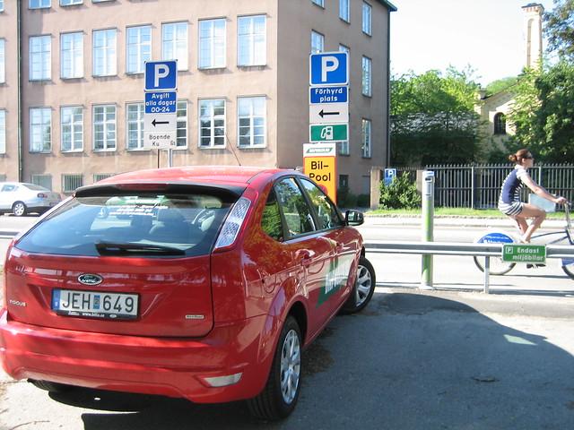 stockholm parkering