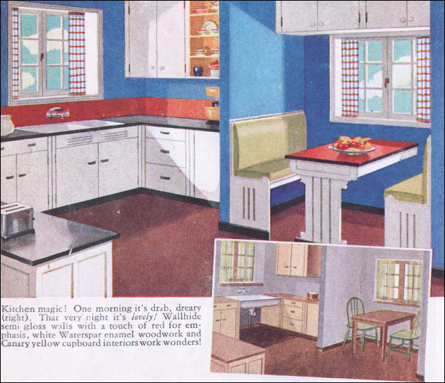 1930s kitchen - a gallery on flickr