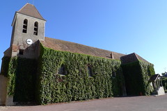 église feuillue